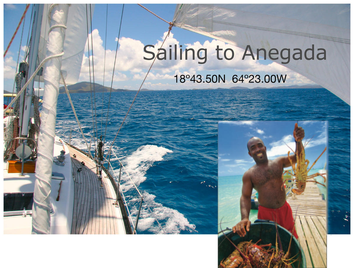 Sailing to Anegada
