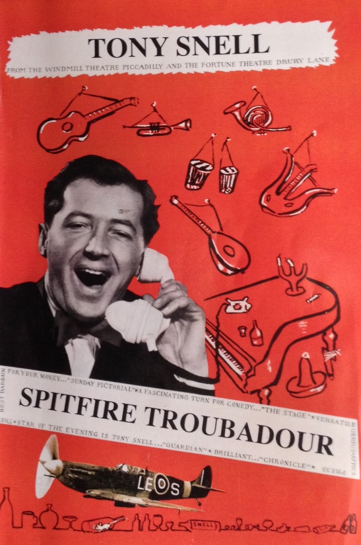 Cover of Spitfire Troubadore