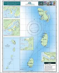 Waterproof Planning Chart of the Windward Islands (side a)