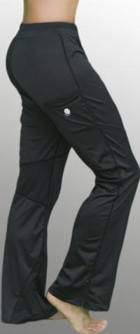 Womens Black Pants Sideview