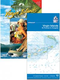Cruising Guide to the Virgin Islands and NV waterproof Virgin Island Chart