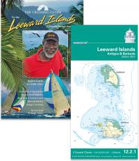 Cruising Guide to the Leeward Islands and NV waterproof Leeward Island Chart