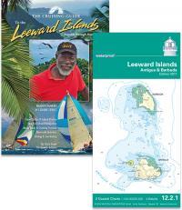 Cruising Guide to the Leeward Islands and NV waterproof Leeward Island Chart