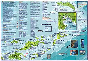 british virgin islands guide dive map