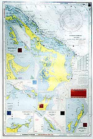 Waterproof Navigation Charts Grand Bahama Amp The Abacos